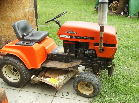 ariens s16 tractor manual