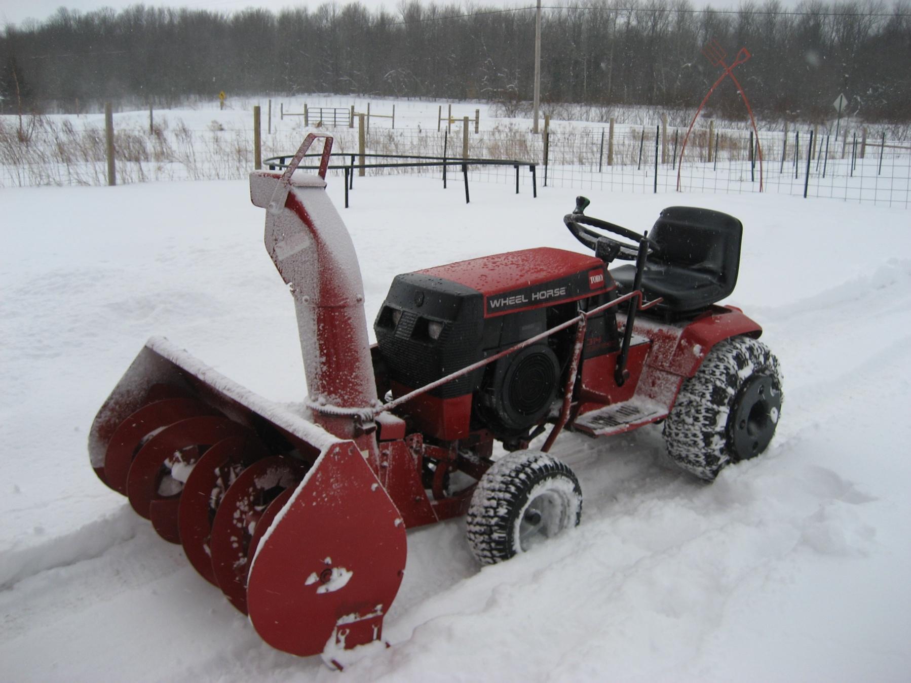 Wheelhorse 314-h parts manual for model 73403.