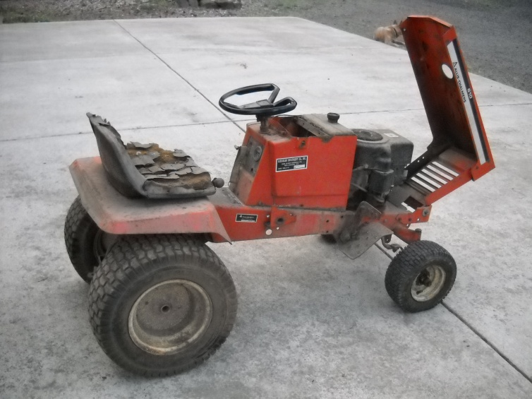 It is decided, the AC 610 is first - MyTractorForum.com - The ... B Allis Chalmers Garden Tractor Wiring Diagram on