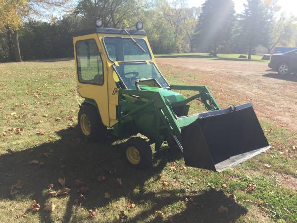 John Deere 445 Model 40 Loader And Cab Mytractorforumcom The