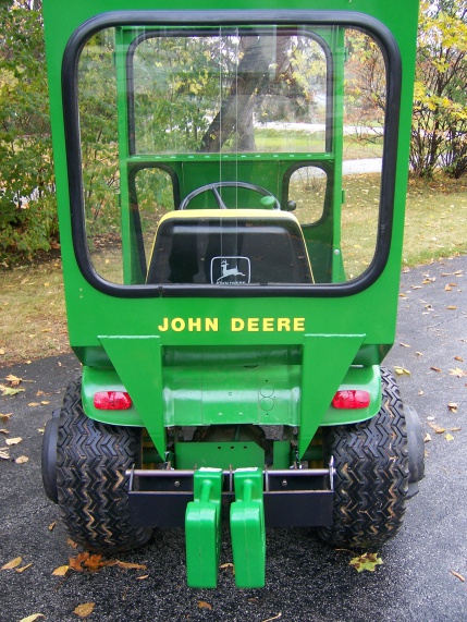 Replacing rear glass and trim on a cozy cab - MyTractorForum