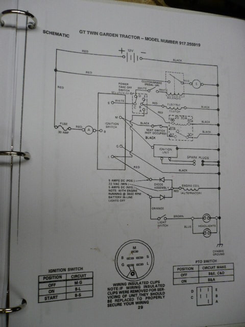 [ZSVE_7041]  Alternator/charging system questions for model 917 254410   My Tractor Forum   Roper Tractor Wiring Diagram      My Tractor Forum