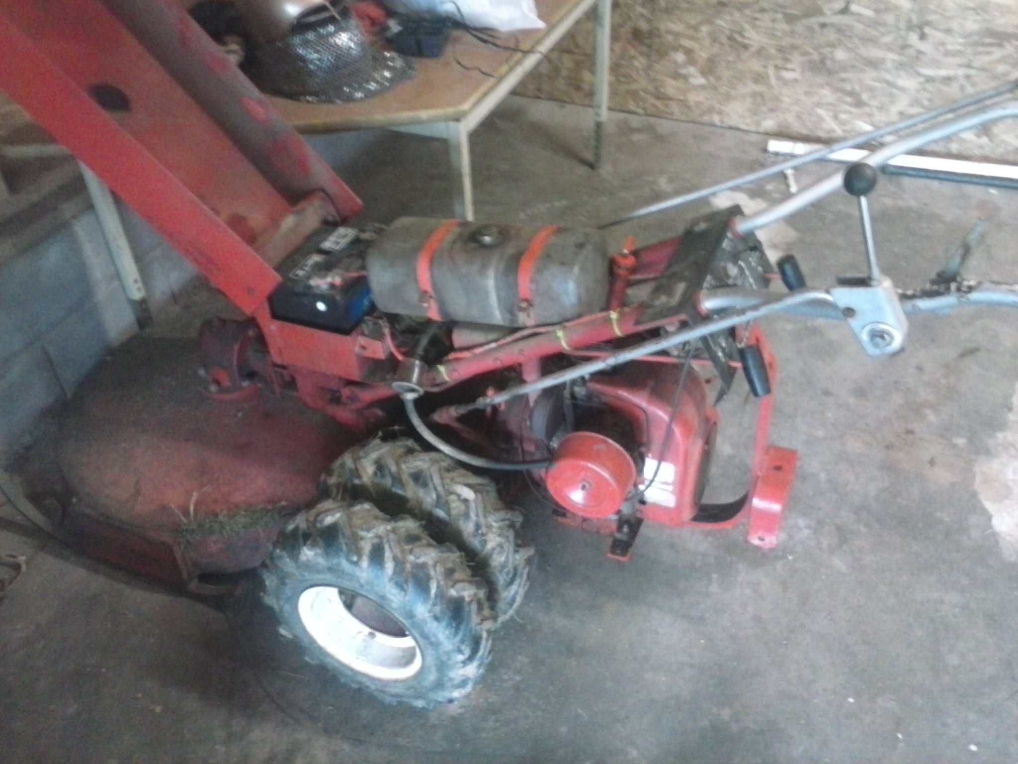 Repower of a 5360 walk behind  - MyTractorForum com - The