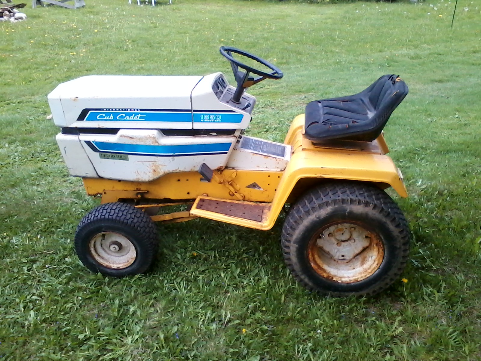 IH Cub Cadet 1650 Hydro Tractor Project Paul. Attached Thumbnails. Click  image for larger version Name: 032.jpg Views: 115 Size: 521.6 ...