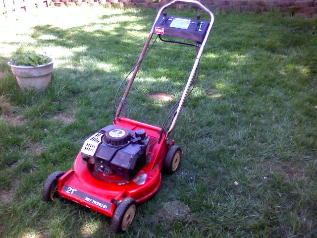 toro 2 stroke wont run right