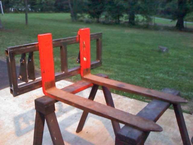 Homemade Pallet forks | My Tractor Forum