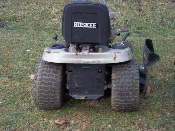MTD Huskee model 13AZ608H131 rear end - MyTractorForum com