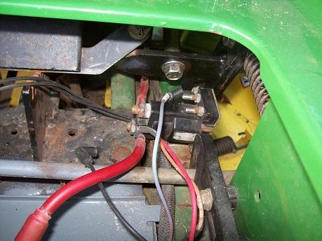 John Deere STX38 Kohler CV12.5S   My Tractor Forum on ford starter solenoid wiring, jeep starter solenoid wiring, chrysler starter solenoid wiring, delco starter solenoid wiring, mercury marine starter solenoid wiring,