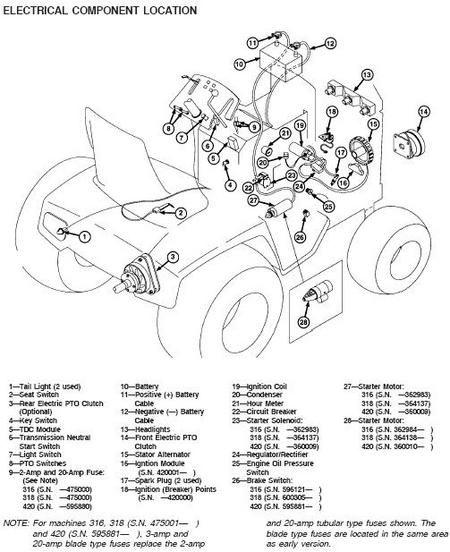 JD 420 d completely, electrical-? | My Tractor Forum John Deere Wiring Schematic on