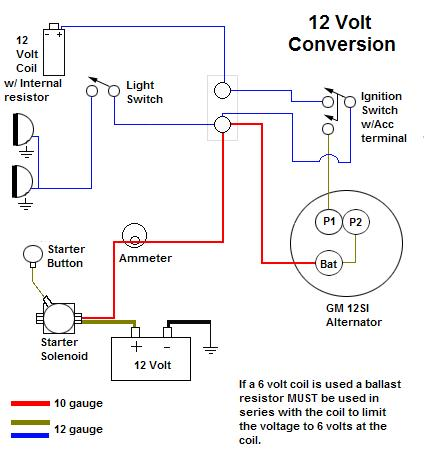 12 Volt Ignition Wiring    Diagram     Wiring    Diagram
