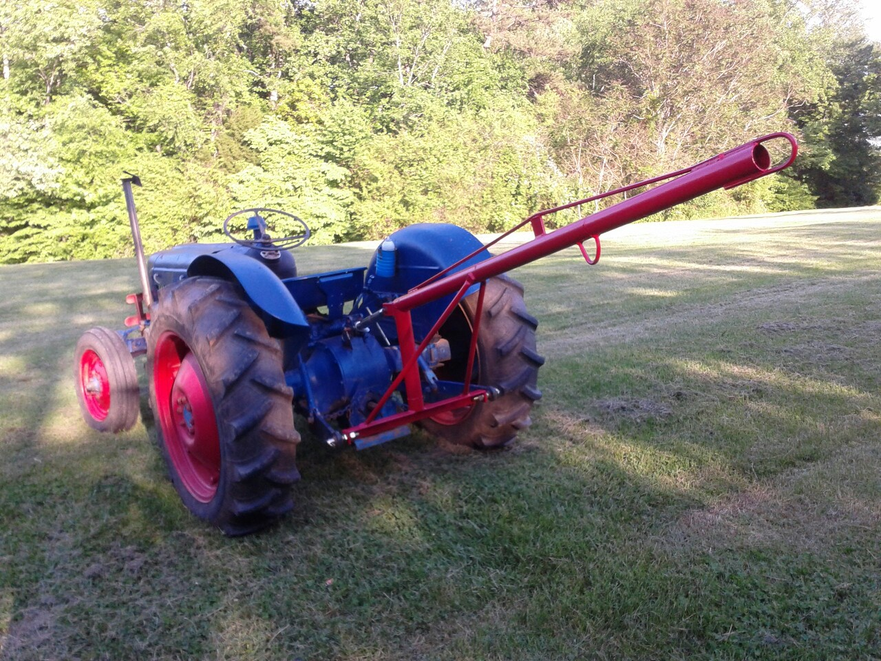 building a 3 point boom pole mytractorforum com the
