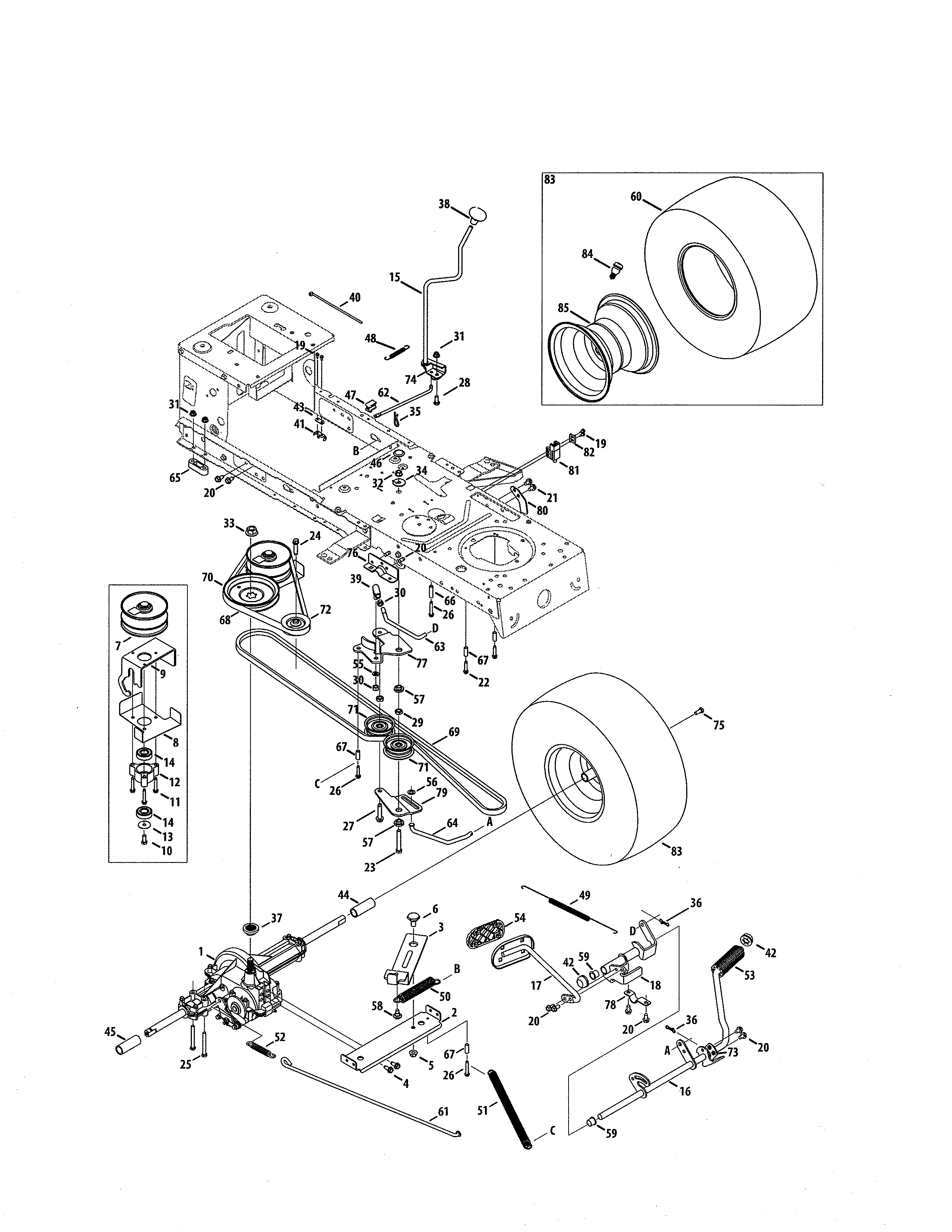 T1600 drive belt wont engage craftsman mytractorforum click image for larger version name 1312458p 00008g views 128 size pooptronica Gallery