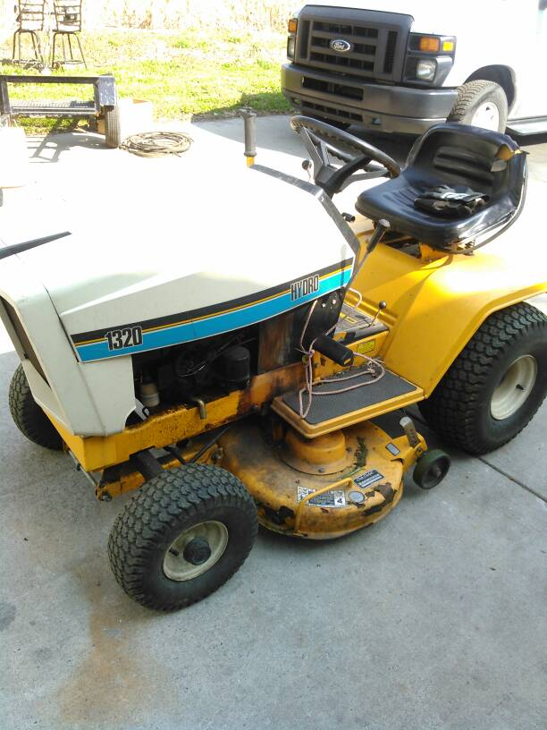 1320 hydro fluid substitute? - MyTractorForum com - The