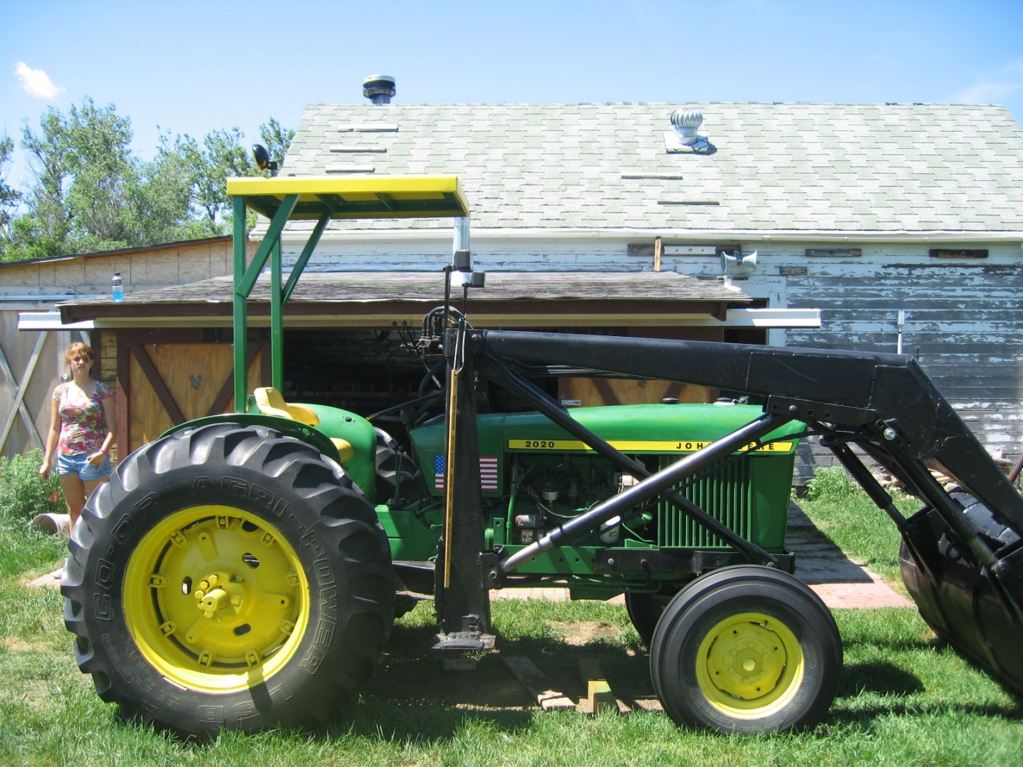 Help Canopy For Tractor My Tractor Forum