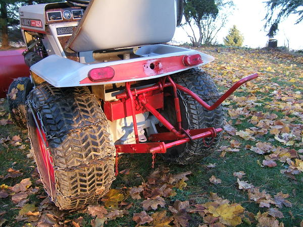 Tube Frame 3- Point Hitch - MyTractorForum com - The