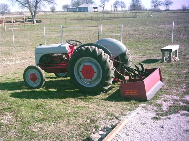 Seat Time!! Box Blade   - MyTractorForum com - The Friendliest