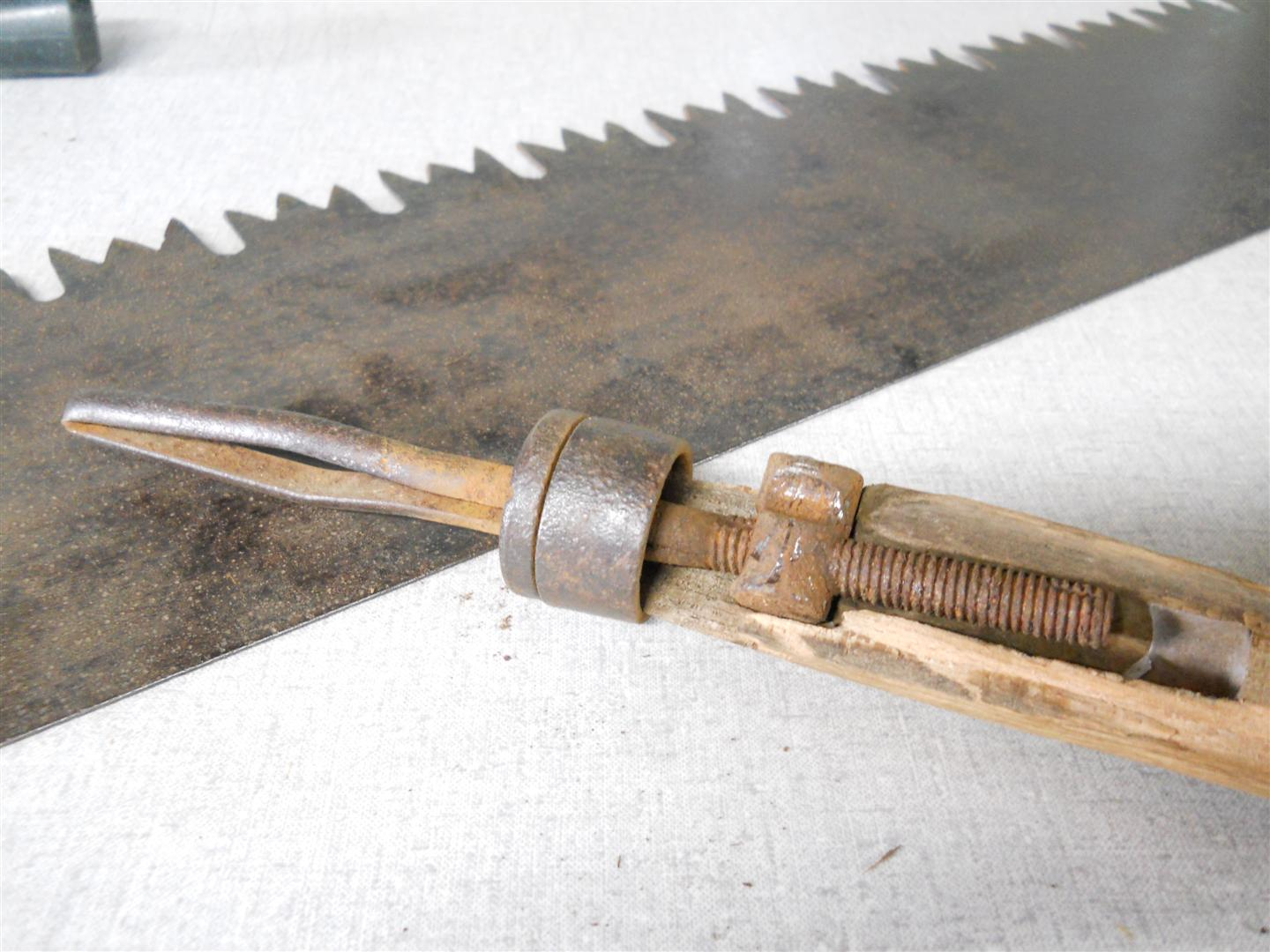 Antique 2 Man Crosscut Saw My Tractor