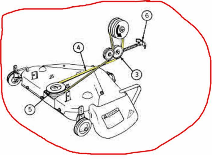 35 John Deere 318 Belt Diagram