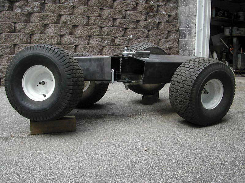 Articulation joint build MyTractorForum The Friendliest – Articulated Garden Tractor Plans