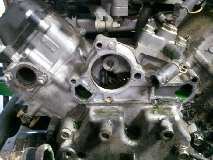 Water pump & plastic cam gear change? - MyTractorForum com