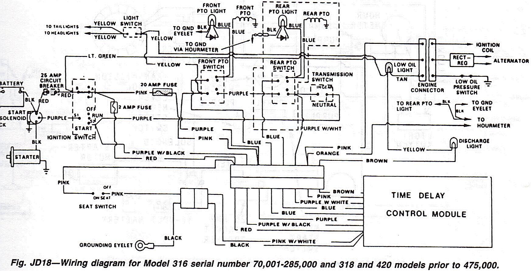 John Deere 318 voltage issues | My Tractor Forum on x465 john deere wiring diagram, lt180 john deere wiring diagram, z225 john deere wiring diagram, lx277 john deere wiring diagram, x485 john deere wiring diagram, lt160 john deere wiring diagram, sst15 john deere wiring diagram, lt155 john deere wiring diagram, z425 john deere wiring diagram,