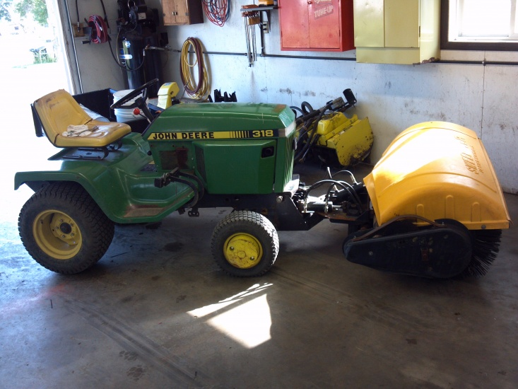 New toy for the 318 - MyTractorForum com - The Friendliest