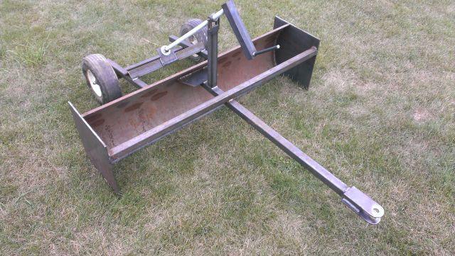 Homemade Box Blade For Lawn Mower Modern Homemade