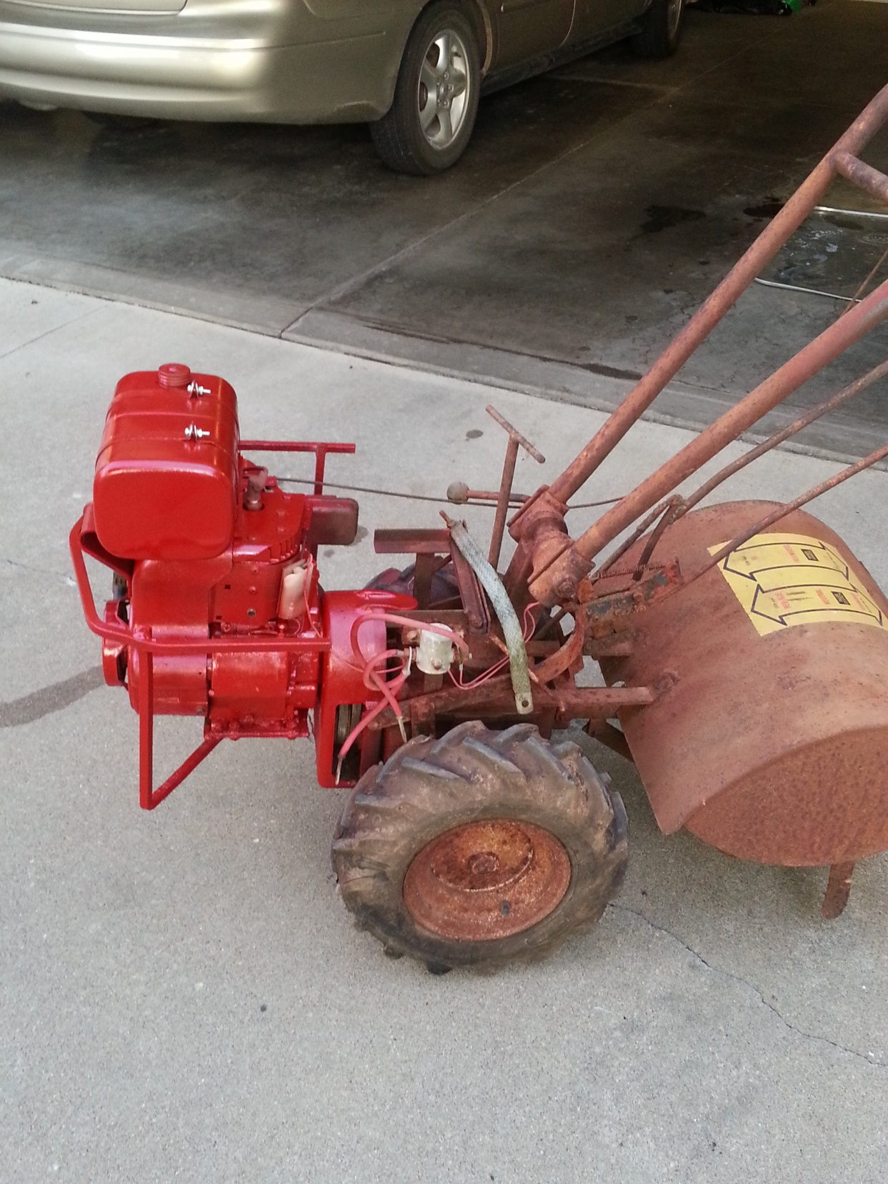 Troy bilt tiller pictures John Villiard Auction Service
