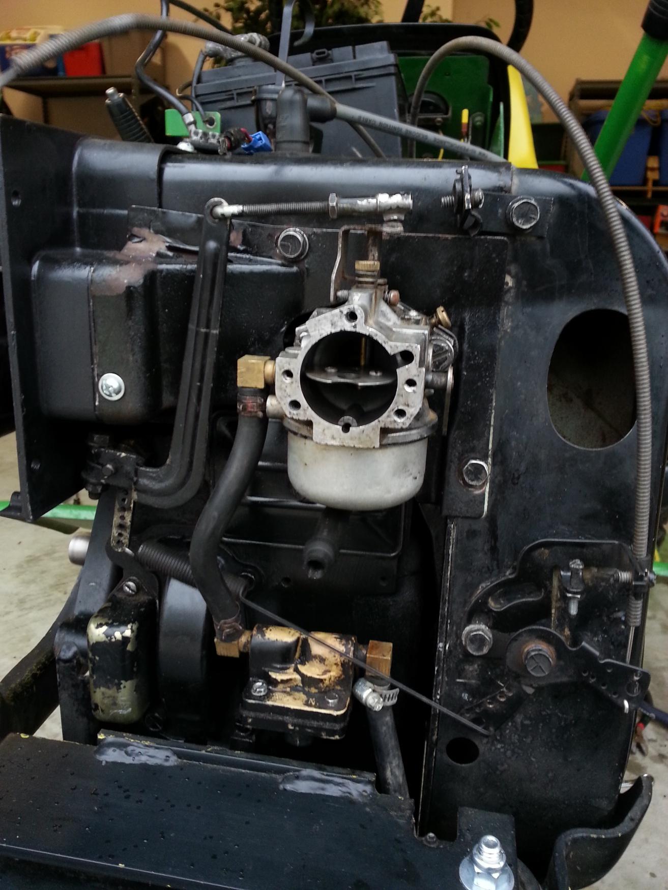 john deere 212 engine diagram kohler k301 revs out of control worn governor shaft  kohler k301 revs out of control worn governor shaft