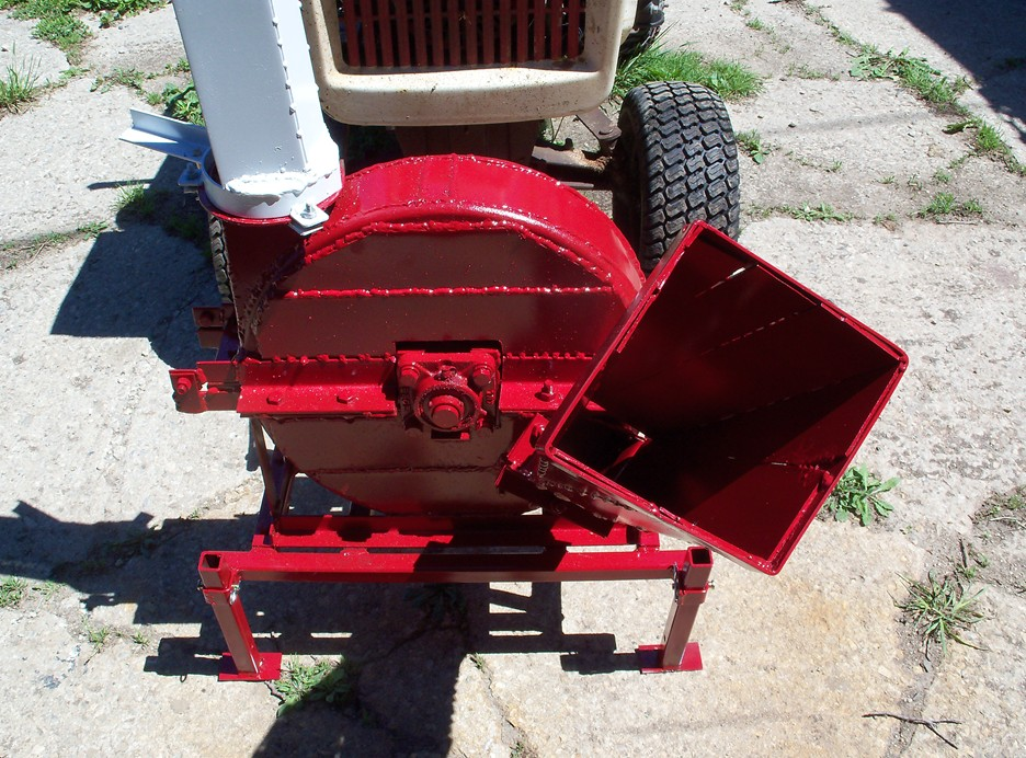 Home made Wood Chipper | My Tractor Forum