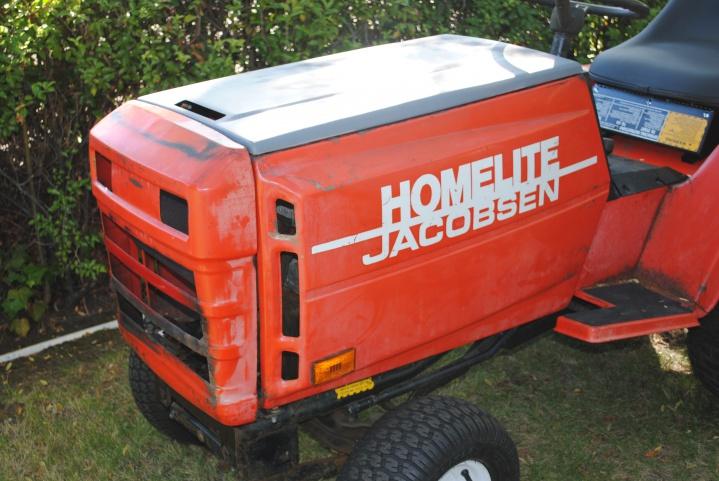 Big ol' Jacobsen/Homelite - MyTractorForum.com - The ... Jacobsen Gt Wiring Diagram on