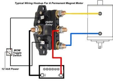 no more burned up winch controls - mytractorforum - the, Wiring diagram