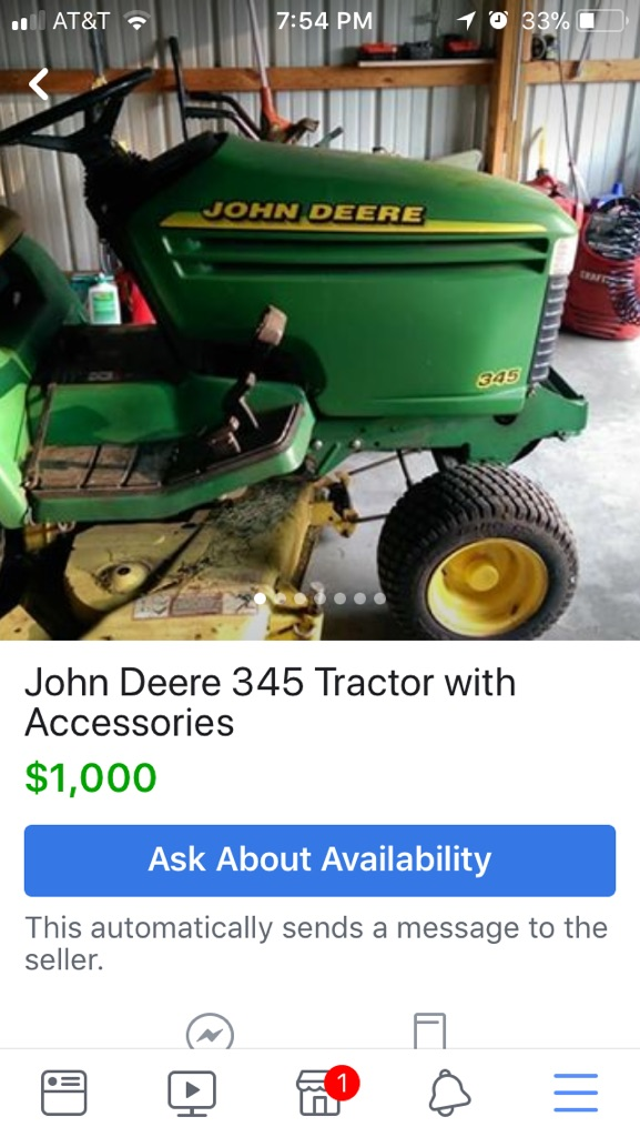 Sell my JD 317 for a JD 345? - MyTractorForum com - The
