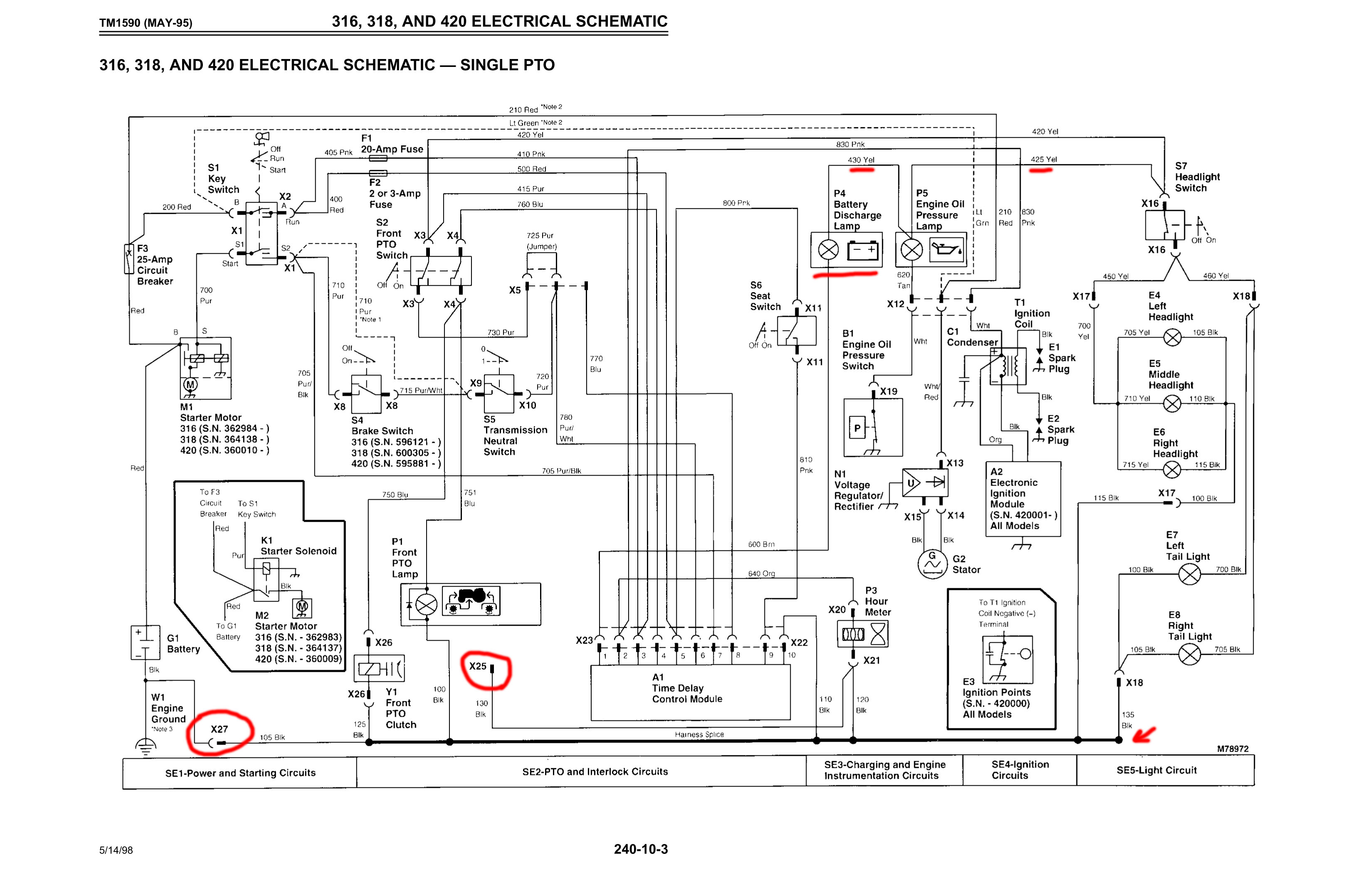 wiring diagram 2305 john deere wiring diagram and schematic john deere snow wiring diagram attachts diagrams