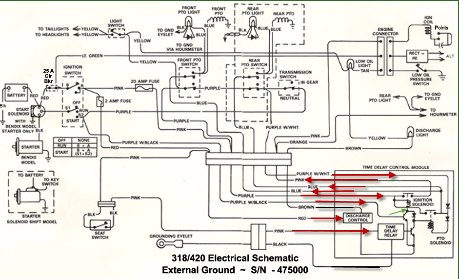 318 Neutral Safety Switch? - MyTractorForum.com - The ... on simplicity lawn tractor wiring diagram, kubota lawn tractor wiring diagram, case lawn tractor wiring diagram, cub cadet lawn tractor wiring diagram, troy bilt lawn tractor wiring diagram, snapper lawn tractor wiring diagram, wheel horse lawn tractor wiring diagram, craftsman lawn tractor wiring diagram, murray lawn tractor wiring diagram,