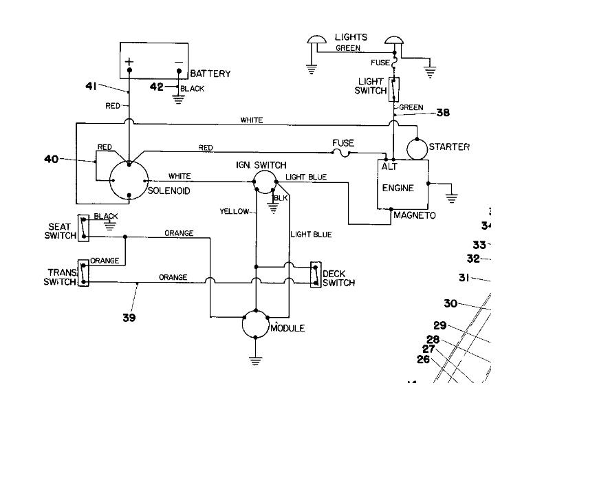 Toro 8-32 Model 57300 Electrical Problem istance ... A Toro Ignition Switch Wiring Diagram on