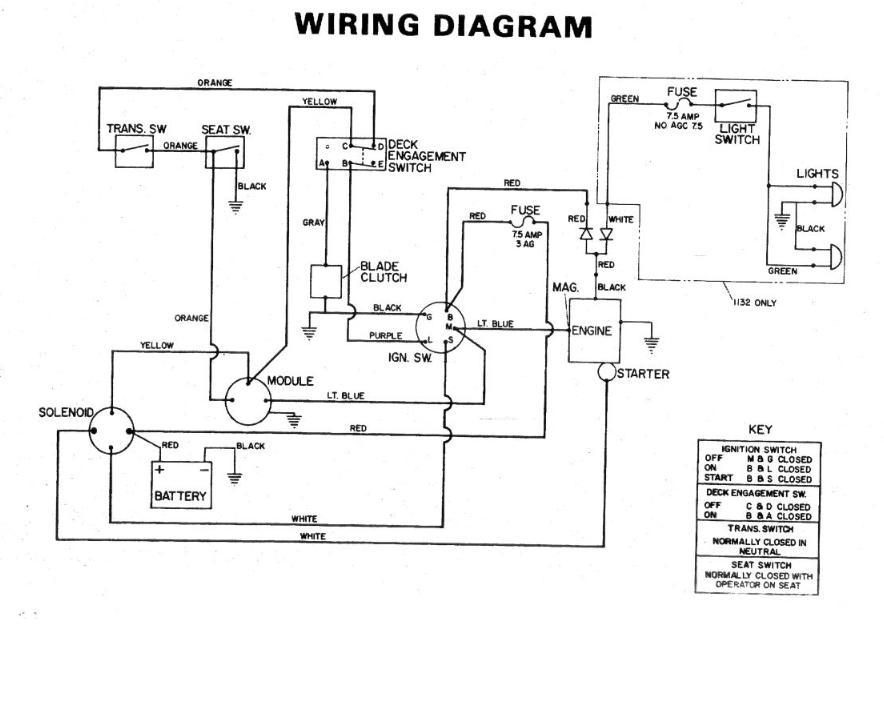 toro lawn mower wiring diagram toro 8 32 model 57300 electrical problem assistance my tractor forum  toro 8 32 model 57300 electrical