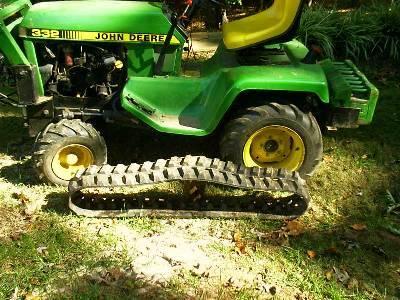 Anyone Seen Or Built A Half Track Garden Tractor