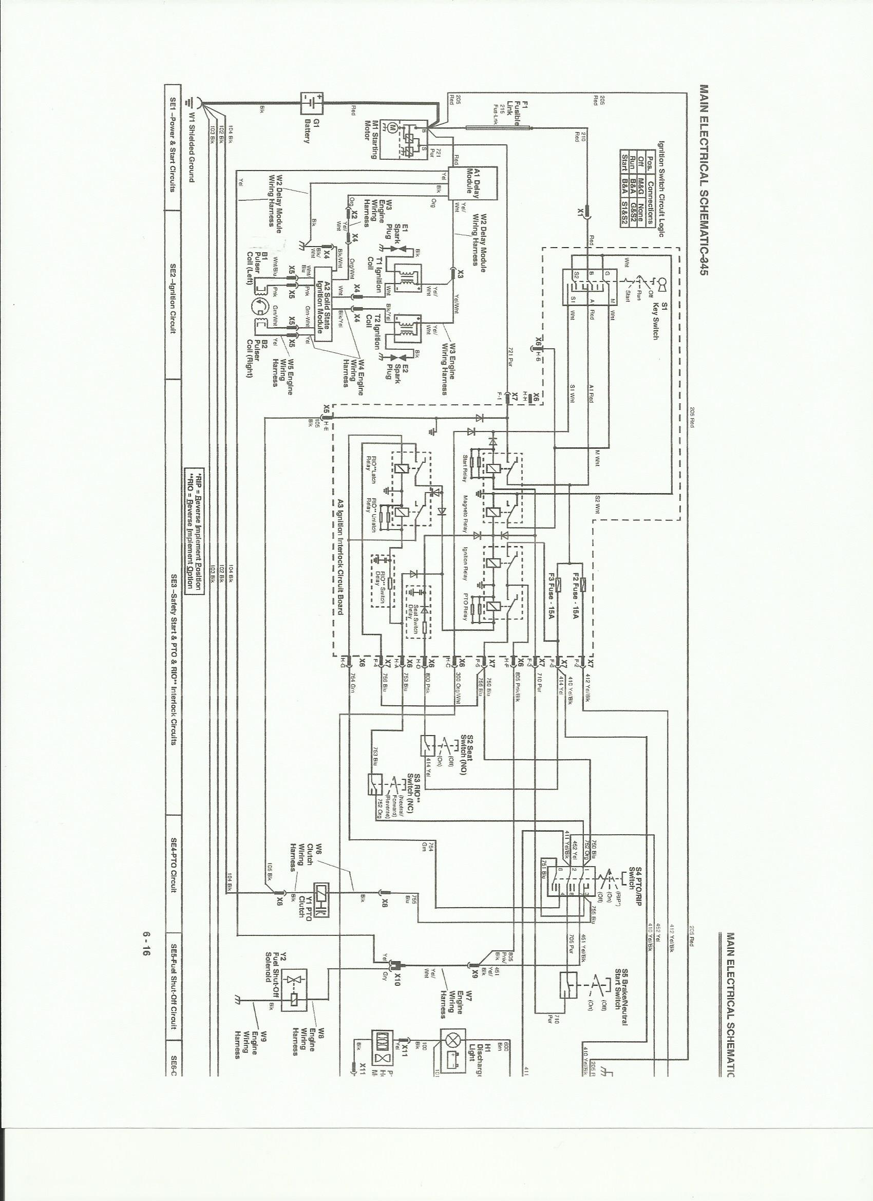 Jd 345 Wiring Diagram - Wiring Schematics Jd Wiring Diagram on