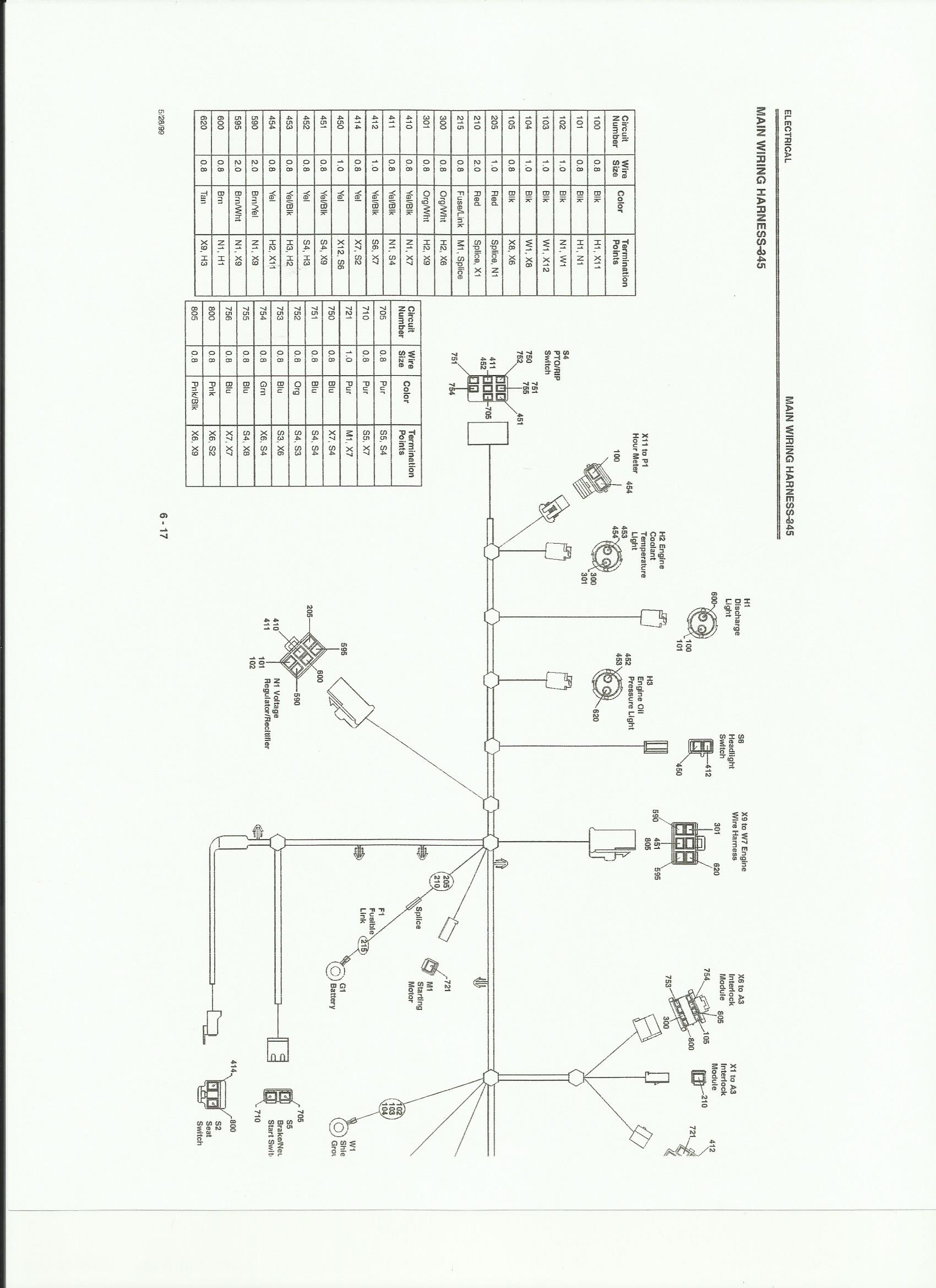 need a 345 wiring diagram pdf please mytractorforum com the click image for larger version 345 electrical 2 jpg views 244 size