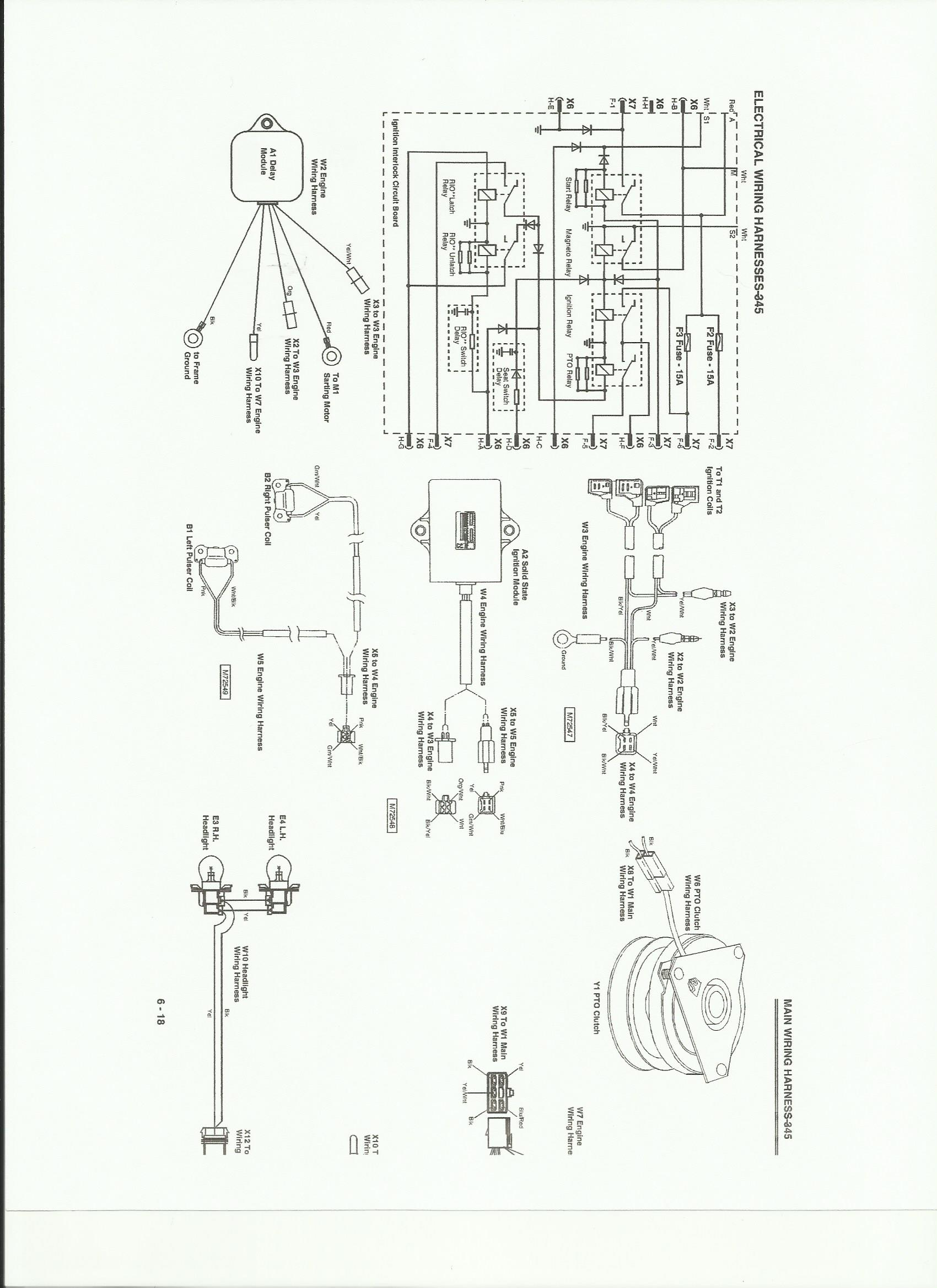 Need A 345 Wiring Diagram  Pdf Please - Mytractorforum Com