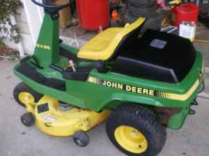 John Deere SX95 starting question   My Tractor Forum on