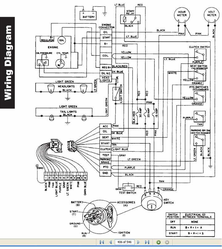 416 8 Wont Crank Page 2 MyTractorForum The – John Deere 2950 Tractor Wiring Diagrams