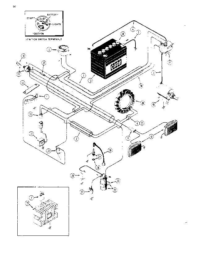 ihc 444 wiring diagram electrical