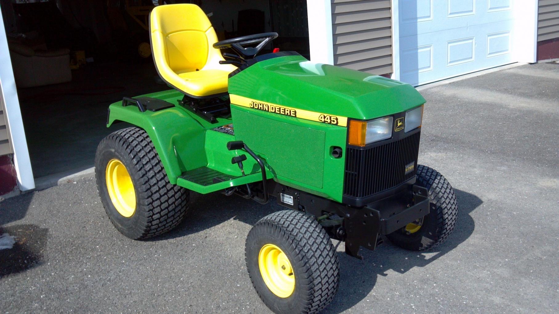 John Deere 445 >> 445 Refurbished Mytractorforum Com The Friendliest Tractor Forum