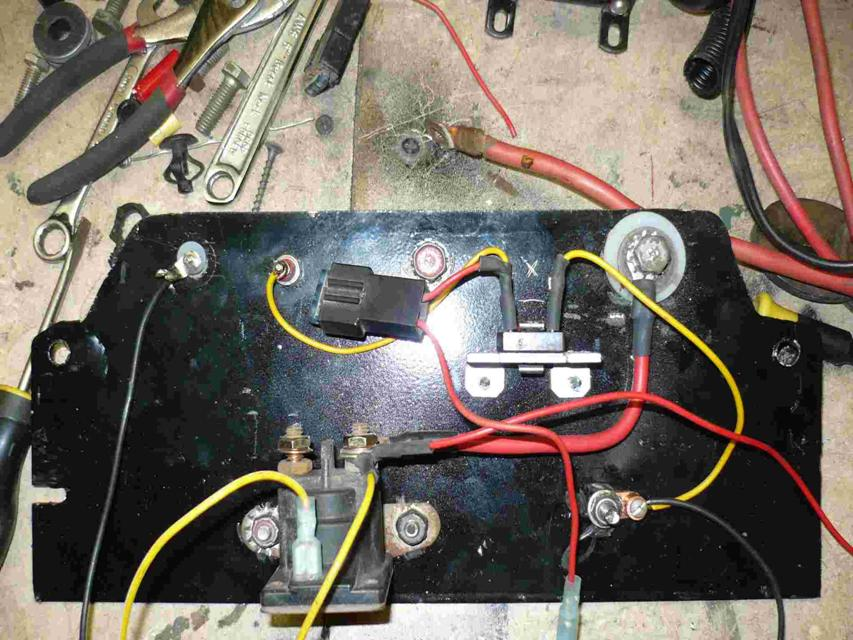 starter solenoid wiring diagram for lawn mower wiring diagram murray lawn mower solenoid wiring diagram maker