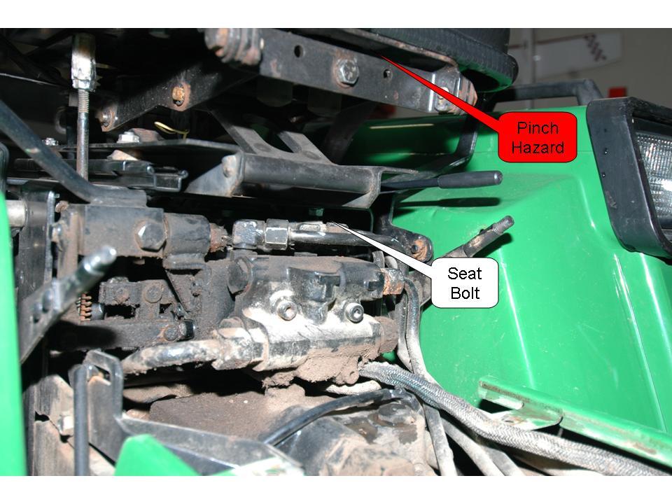 John Deere 955 Auxiliary Hydraulics Installation