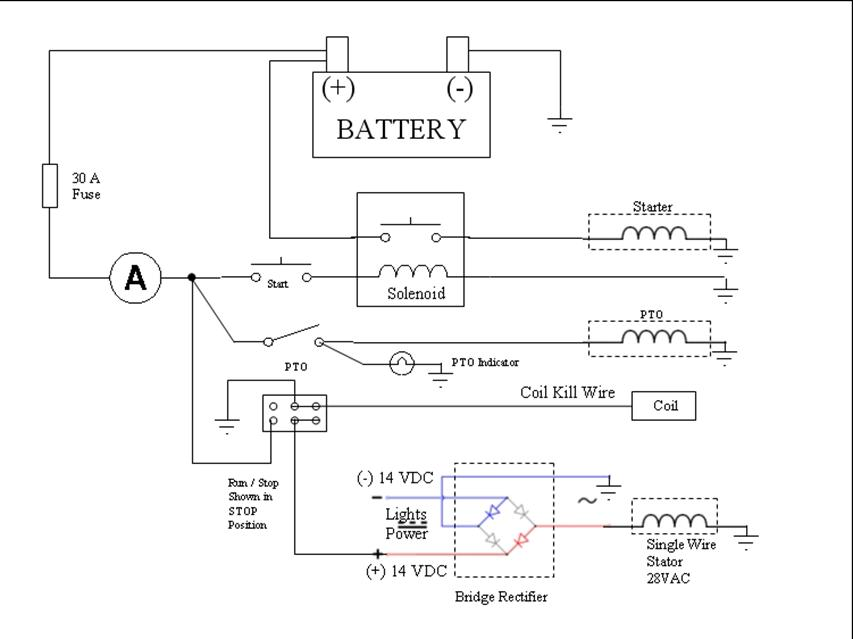 i need a wiring diagram for a lawn tractor, yard machine model, Wiring diagram