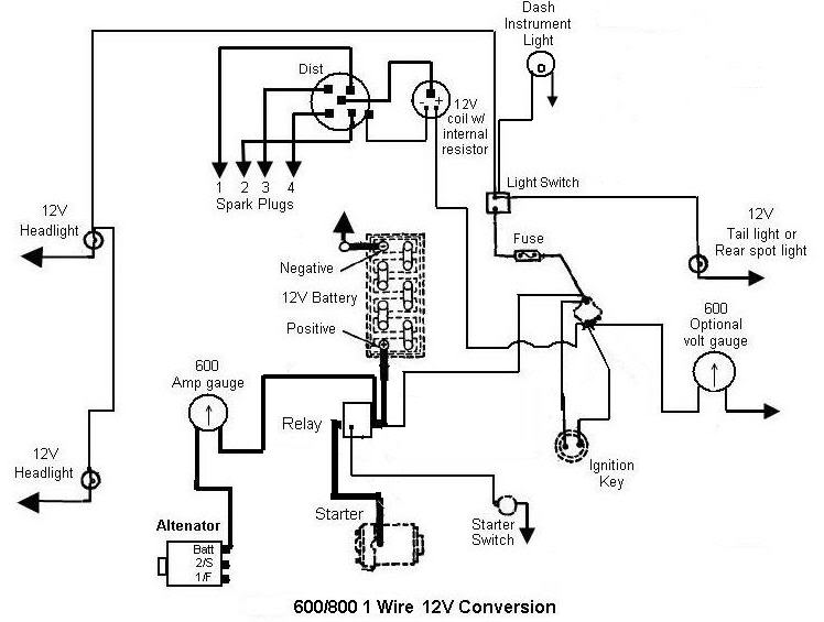 12 Volt Tractor Alternator Wiring Diagram from www.mytractorforum.com