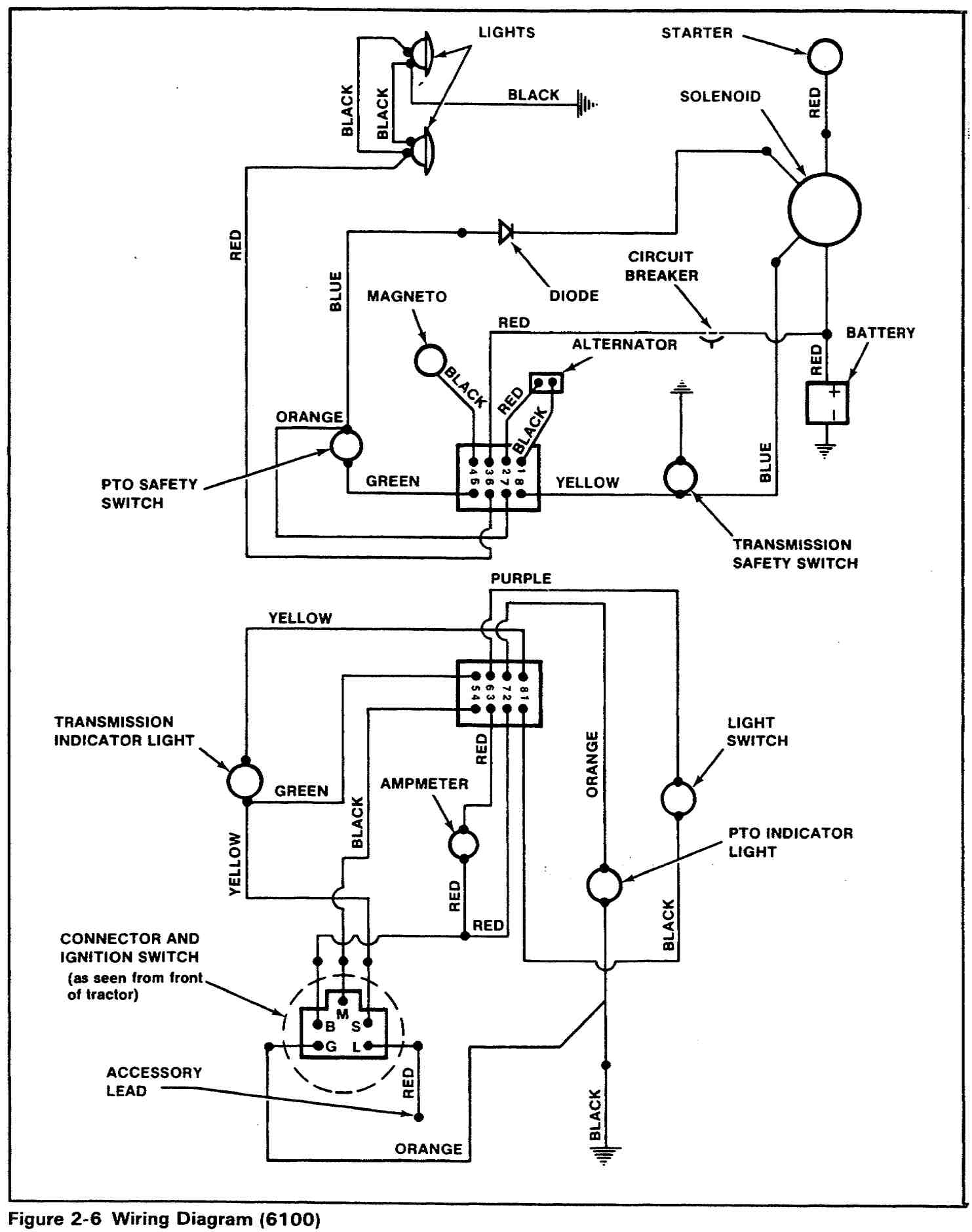 Would Anyone Have Wiring Diagram For Simplicity 6116 Broadmoor 110 Atv 6 Wire Ignition Switch Click Image Larger Version Name 6100 Views 3389 Size